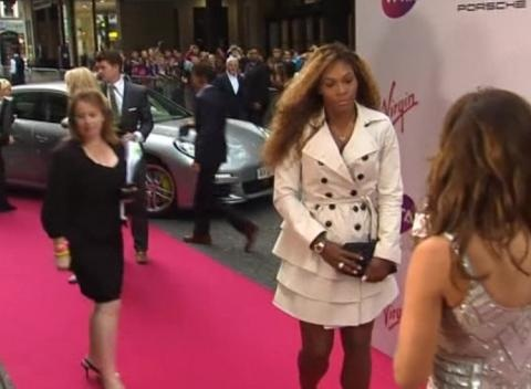 News video: The Belles of the Tennis Ball Hit the Red Carpet