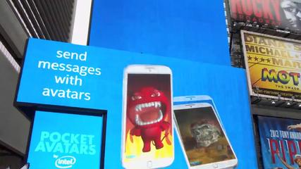 News video: Intel Pocket Avatars Showcase Facial Tracking Tech